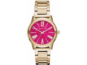 Women's Michael Kors Hartman Gold Tone Watch MK3520