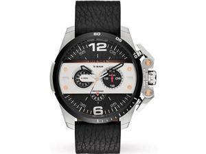 Men's Diesel Ironside Chronograph Leather Strap Watch DZ4361