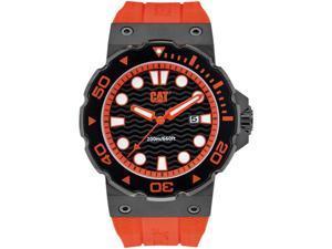 Men's Red Caterpillar CAT Reef Diver's Watch D5.161.28.128