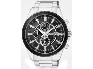 Men's Citizen Chronograph Stainless Steel Watch AN3561-59E