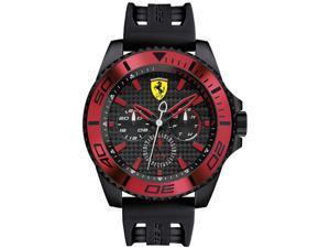Men's Scuderia Ferrari XX Kers Silicone Strap Watch 830310
