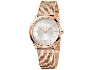 Women's Calvin Klein Minimal Rose Gold Watch K3M22626