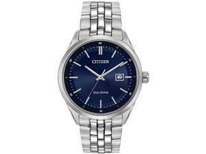Citizen Bracelet Eco-Drive Analog Blue Dial Men's Watch BM7251-53L