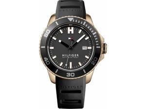 Men's Tommy Hilfiger Wade Black Strap Watch 1791266