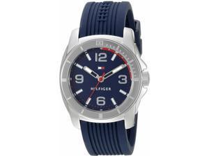 Men's Tommy Hilfiger Blue Silicone Sport Watch 1791211