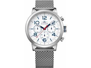 Mens Tommy Hilfiger Cool Sport Steel Mesh Chronograph Watch 1791233