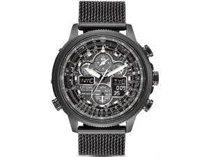 Mens Citizen Eco-Drive Navihawk A-T Chronograph Watch JY8037-50E