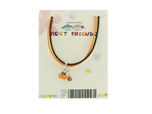 """Children's """"Best Friends"""" Pumpkin Necklace"""