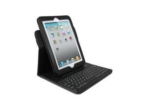 Dyconn IPBKF Bluetooth 2.0 Keyboard Pad Folio Case with Detachable Sleeve for iPad 2/3