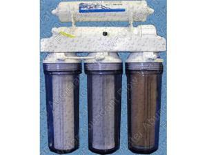 5-Stage Aquarium RO/DI Psarion Psi Reef System100 GPD high output ultra pure DI water for your salt water aquarium.  Easy to use, dual DI treatment for the best quality water!