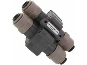 "Auto Shut-off Valve (ASV) 90% with 1/4"" Quick-connect Fittings"