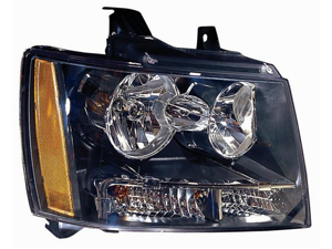 CHEVROLET CHEVY TAHOE SUBURBAN AVALANCHE 07 - 11 HEAD LIGHT LAMP with BULB RH