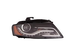 AUDI A4 S4 SEDAN WAGON 10 11 XENON HEAD LIGHT W/O CURVE LIGHTING RH 8K0941030R