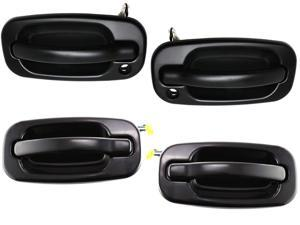 Tahoe Yukon Sierra Denali Xl 99 - 07 Front Rear Outer Paint-Able Door Handle Set