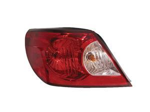 Chrysler Sebring Convertible 08 2008 Rear Tail Light Lamp With Bulb 5178171Ae Lh