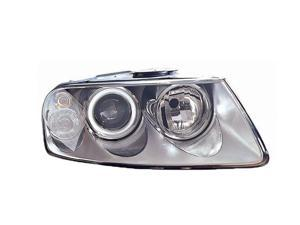 Volkswagen Touareg 04 - 07 Halogen Head Light Lamp 7L6 941 018 Bk Vw2503132 Rh