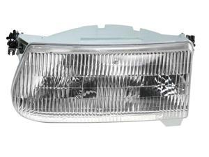Ford Explorer 95-01 Mountaineer 97 Headlight Head Lamp F5Tz-13008-B F5Tz13008B L