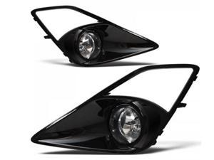 Scion Frs 13 14 Clear Fog Light Kit With Glossy Black Finish Bezel Pt413 - 18130