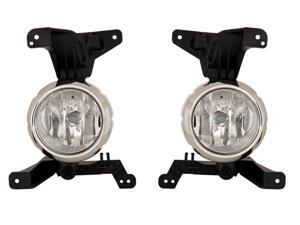 Fits Kia Sorento Without Sport Package 11 12 Fog Light Pair 92201 92202 1U000