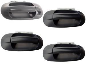 FORD EXPEDITION LINCOLN NAVIGATOR 03 - 13 FRONT REAR paint-able DOOR HANDLE SET