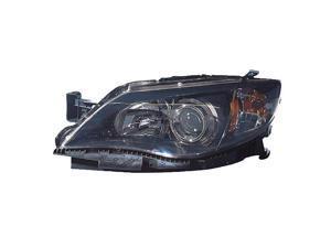 Subaru Impreza 08-11 Shark Eye 2.5I Premium Sedan Wagon Blk Halogen Headlight Lh