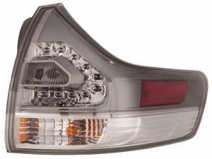 Toyota Sienna Van 11 12 Se Model Rear Tail Light Lamp With Bulb Rh 81550 - 08040
