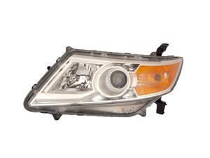 Honda Odyssey Van 11 12 Head Light Lamp Ho2502142 33150-Tk8-A01 20-9188-00 Lh