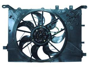 Volvo S60 V70 Xc70 01-03 S80 From Vin Ch116811 Radiator Ac Condenser Cooling Fan