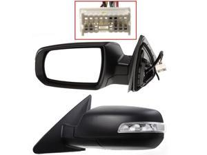 Fits Kia Sorento 11 12 13 14 Power Heated Mirror With Signal Light Lh 876101U050