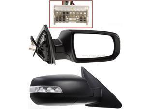 Fits Kia Sorento 11 12 13 14 Power Heated Mirror With Signal Light Rh 876201U050