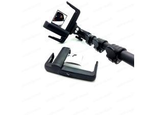New Mirror Extended Selfie Stick MONOPOD for Heavy Duty Phone + Bluetooth Remote