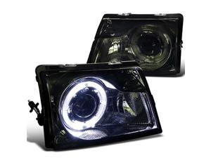 Ford Ranger Smoke Tinted Halo Projector Headlights