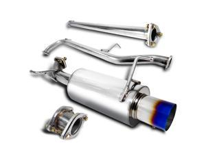 Honda Accord 4Cyl Titanium Burnt Tip Catback Exhaust Muffler