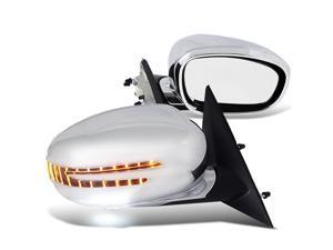 Dodge Charger Rt Se Srt8 Base Chrome Power Folding Side Mirrors Led Turn Signal