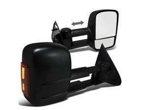 Ford F150 Black Led Signal Side Power Towing Mirrors