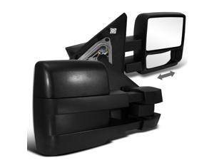Ford F150 F-150 Xl Xlt Fx4 Black Manual Towing Mirrors