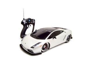 Maisto 1:10 White Lamborghini Gallardo NiCDsm RC Car
