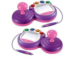 Two Pink V.Smile Enhanced Joysticks Bundle