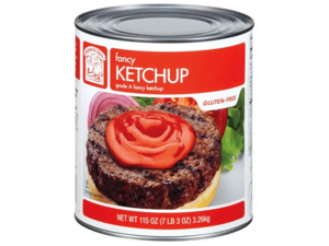 Bakers & Chefs Fancy Ketchup - 114 oz. container