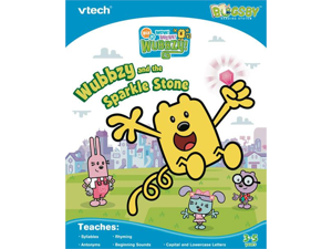 Vtech Bugsby Reading System Book: Wow Wow Wubbzy