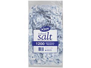 N'JOY Iodized Salt - 1,200 ct. .5 gm Packets