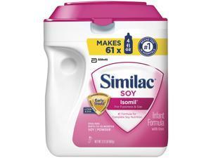 Similac Soy Isomil Baby Formula - 34 oz