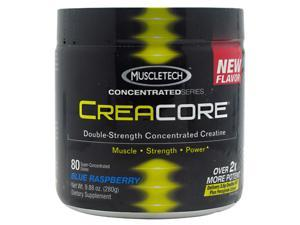 MuscleTech Concentrated Series CreaCore Blue Raspberry - 80 Servings-9.88 oz