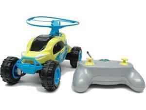 Maisto Yellow and Blue Blade Rover R/C Car