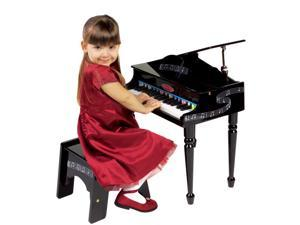 Melissa & Doug Deluxe Wooden Grand Piano