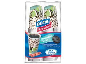 Dixie PerfecTouch Hot Cups - 20 oz./100 ct.