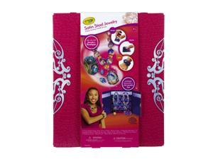 Crayola Jewelry Boutique Satin Steel Pack