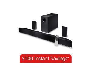 VIZIO 5.1 Home Theater Soundbar w/ Wireless Speakers