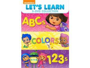 Dora the Explorer: Let's Learn 3 Pack: 123s & Abcs & Colors (DVD)