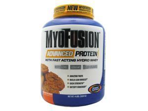Gaspari Nutrition MyoFusion Advanced Protein Peanut Butter Cookie - 4 LBS